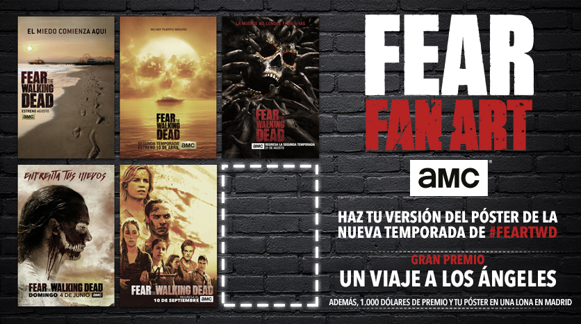 AMC invita a los fans de \'Fear the Walking Dead\' a diseñar un póster ...